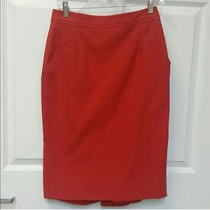 Coral Gucci skirt